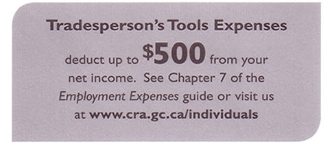 Tradeperson's Tools Expenses
